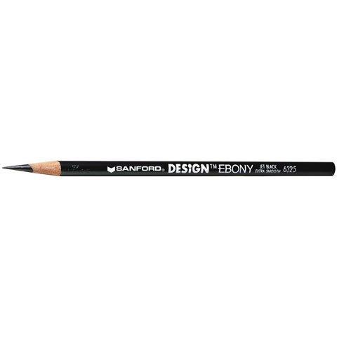EBONY PENCIL 6325 12BX MIN1DOZ (12 pack) (0FC144200) (Design Ebony Pencil)