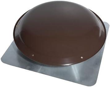 1200 CFM Broan 355BK Roof Mount 120-Volt Powered Attic Ventilator Black Dome