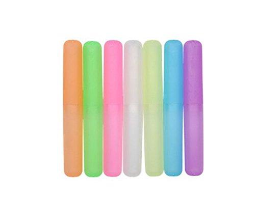 Caja Antibacteriana 7PCS Color Aleatorio Demarkt Caja Portatil para Cepillo Viaje de Dientes Portacepillos de Dientes Funda Cepillos de Dientes Pl/ástico