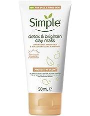 Simple Protect & Glow Işıltı Veren Detox Kil Maskesi 50 ml 1 Paket (1 x 50 ml)
