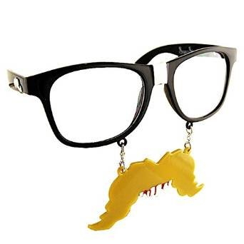 2cf4fd6728 Image Unavailable. Image not available for. Color  Sun-Staches Party  Costumes Hillbilly Toys Sunglasses SG1407