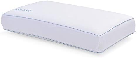 f654e3c4967f Classic Brands Cool Sleep Ventilated Gel Memory Foam Gusseted Pillow with  Performance Cool Pass Cover,. Loading Images.