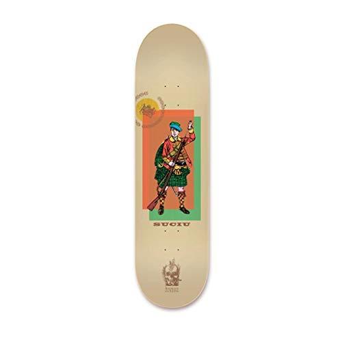 恐ろしいですレオナルドダ宇宙Habitat スケートボードデッキ Suciu 人物 8.0インチ