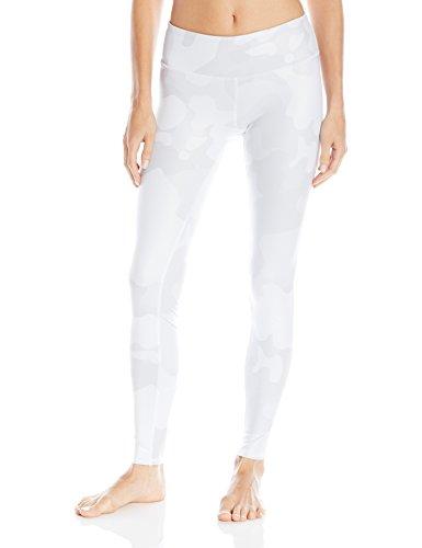White Ladies Camouflage - Alo Yoga Women's Airbrush Legging, White Camo, Medium