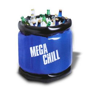 MEGA CHILL Yard Play Large Inflatable Cooler (Holds 40 Cans) (Inflatable Coolers)