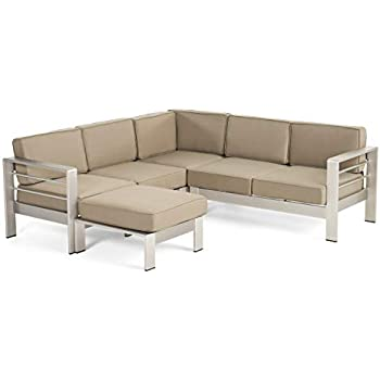 Amazon Com Christopher Knight Home Emily Coral Outdoor