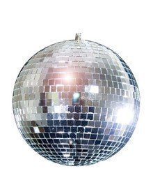 "Forum Novelties Rhode Island Novelty ELMBA08 Mirror Balls, 8"" H, Silver"