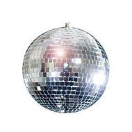 "Rhode Island Novelty ELMBA08 Mirror Balls, 8"" H, Silver"