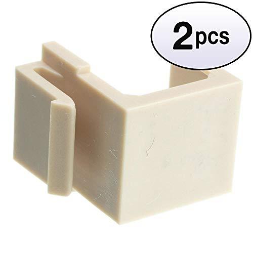 - GOWOS (2 Pack) Keystone Insert, Beige/Ivory, Blank