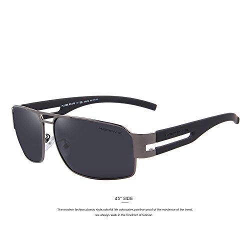 8a2a8d4cba TIANLIANG04 hombres de aluminio clásicas gafas de sol polarizadas gafas de  sol EMI Defender recubrimiento de