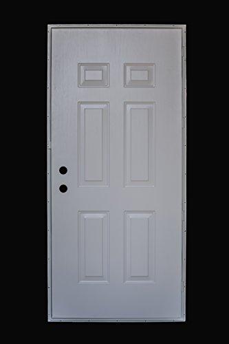 Cordell 36 Inch By 80 Inch 6 Panel Steel Mobile Home Door Hardware Building Materials Doors Doors