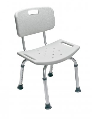 Lumex Platinum Collection Bath Seat with Backrest, 4EA/CS
