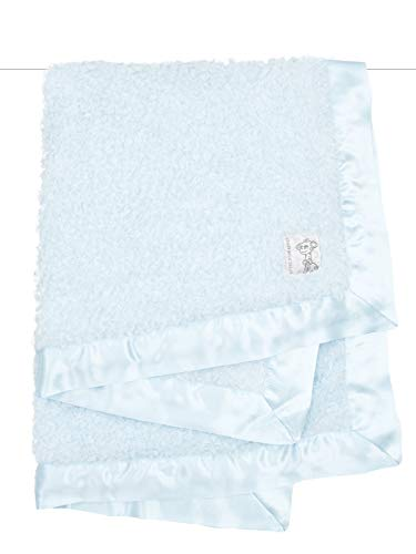 Boucle Baby Blanket, Blue