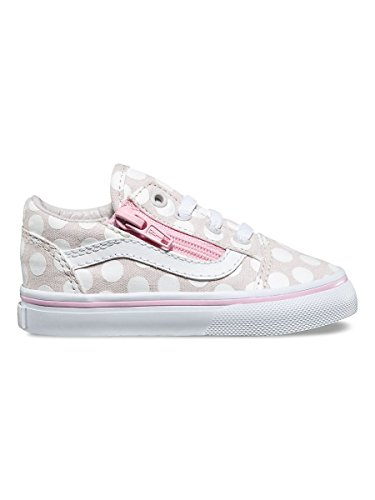 SCARPE BAMBINO VANS OLD SKOOL ZIP (POLKA DOT) VA38EFMMY (21 - WIND CHIME)