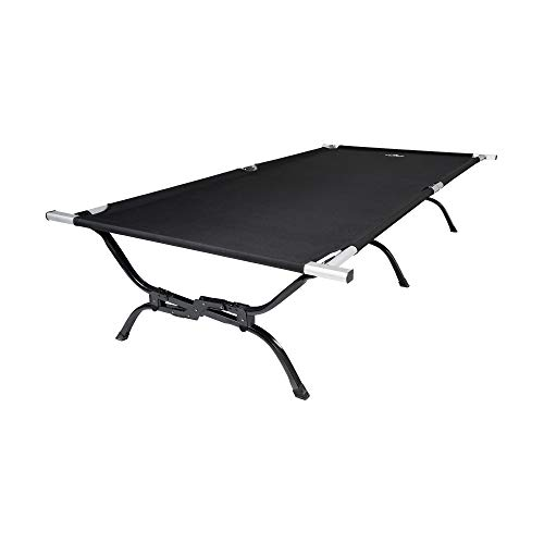 TETON Sports Outfitter XXL Camping Cot Camping Cots for Adults Folding Cot Bed Easy Set Up Storage Bag Included