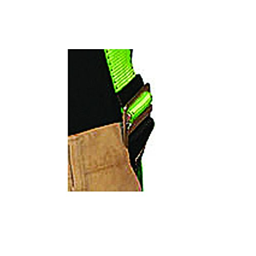 Peakworks Fall Protection V8002020 Industrial / Contractor Harness ( Class L  ), Front and Back D-Ring, Universal Fit, Hi-Vis Green by Peakworks (Image #4)