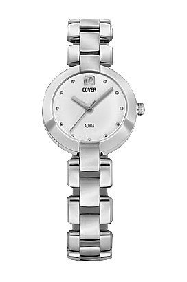 Cover Reflections Analogue Silver Dial Women's Watch - C0159.ST2M
