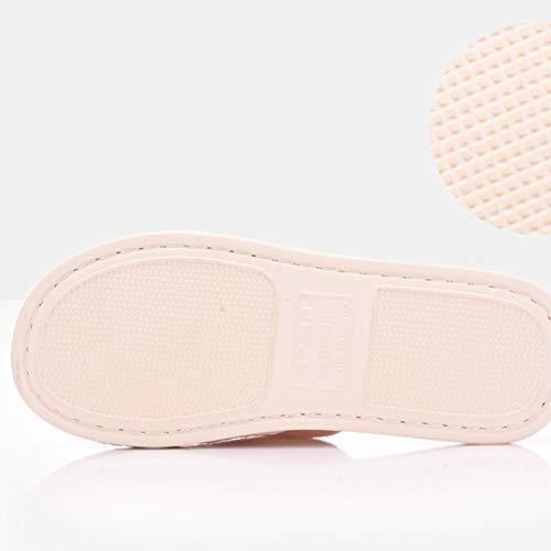 Et Td D Accueil Femmes Ouverture Plancher Japonais 37 Hommes Printemps Taille De Automne Hiver 36 Style Pantoufles couleur En Coton D wwqg8R