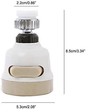 AOLVO Grifo de Cocina Giratorio para purificador de Agua de 360º ...