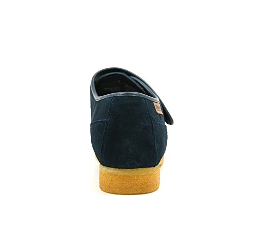 British Collection Royal Old School Slip On Shoes 9.5M Navy Leather by British Collection (Image #2)