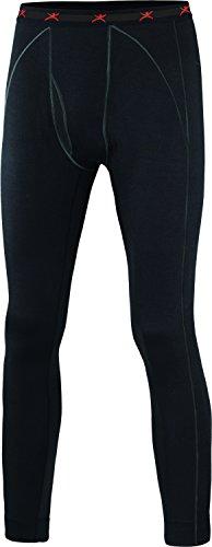 Terramar Merino Silk Extreme Weight Pants, Black, Medium/(32