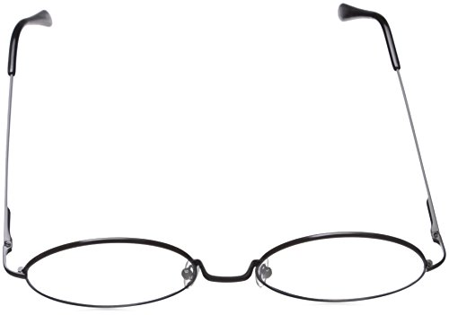 795c5b9aa8 grinderPUNCH - Non-Prescription Round Circle Frame Clear Lens Glasses