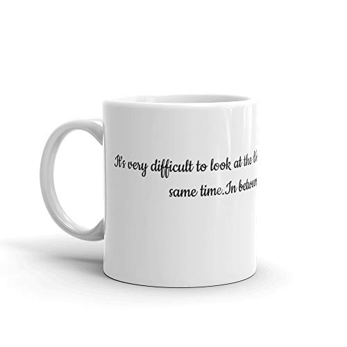 - Tyna Ho Jim Harrison Gift For Coffee Lover Unique Coffee Mug, Coffee Cup A Great Tea Cup With Its Large Mugs Gift For Men & Women C-shape Handle