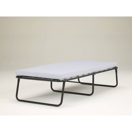 Simmons Foldaway Folding Bed Cot with Memory Foam Mattress by