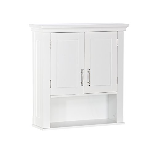 RiverRidge Somerset Collection Two-Door Wall Cabinet, White ()