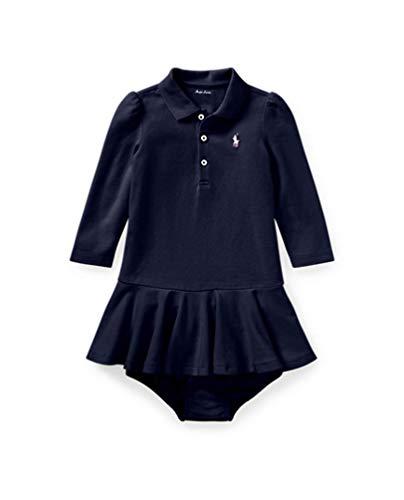 ラルフローレンの子供服 [POLO RALPHLAUREN] ベビー 女の子ツーピースセット 80cm [並行輸入品]