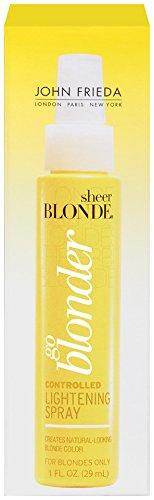 John Frieda Sheer Blonde Go Blonder Lightening Spray, 1 Ounc