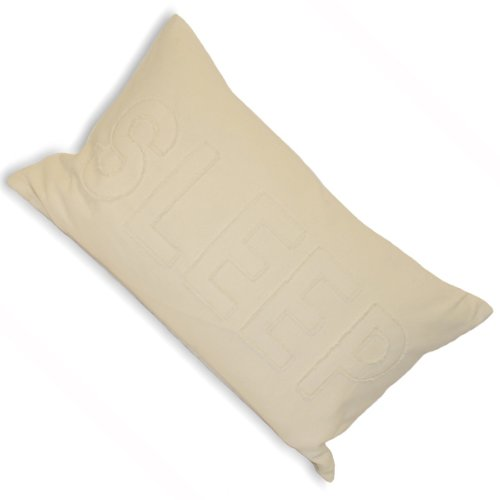 Riva Home - Sleep - Funda para cojín rectangular - Mensaje ...