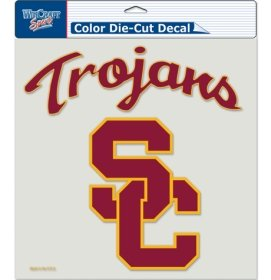 (Wincraft NCAA USC Trojans Die-Cut Color Decal, 8