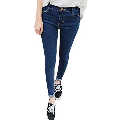 Bleu Femme Pantalons Slim 1 27 Jeans Skyeye Jeans Jeans Pice Taille 7SwPxTq6