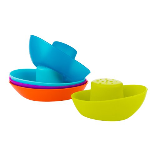 Boon Fleet Stacking Boats Bathing Toy by Boon