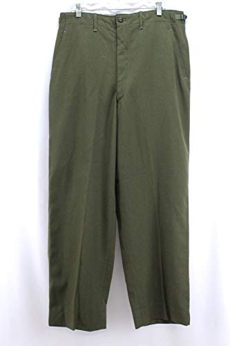 - Genuine Army GI M-1951 Field Trousers Korean War Wool Field Pants OD, Size Medium