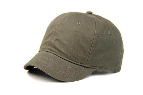 Crazy Cart Hot Sell Adjustable Men and Women Sun Hat Breathable Short Brim Baseball  Cap Armygreen d536c25e3deb