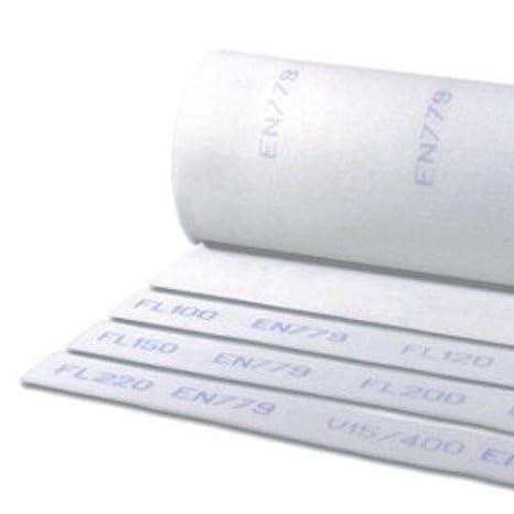 Luftfilter Filtermatte Filtermedium L/üftung Klasse G3//G4 2m x 1m G 3