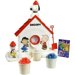 Snoopy Sno Cone Machine - Sno Snoopy Machine Cone