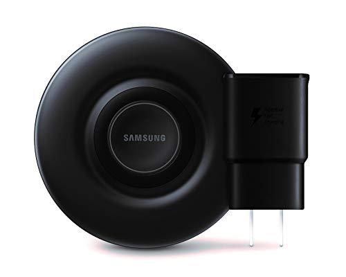 삼성 인증 치 빠른 충전의 무선 충전기 패드(2019EDITION)을 위한 냉각팬을 가진 갤럭시대 전화 시계와 애플 아이폰 장치-미국 버전