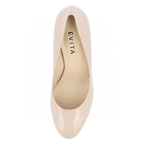 Pumps Lackleder BIANCA Shoes Evita Damen RfZav