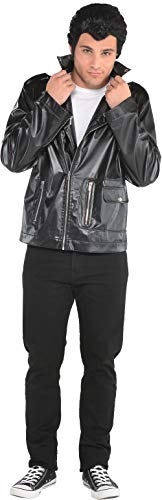 Suit Yourself T-Birds Leather Jacket, Grease Halloween Costumes, Polyester, Plus Size]()