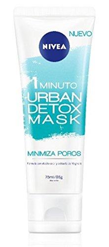 Nivea Urban Skin Detox Mascarilla Minimiza Poros - Paquete de 6 x 75 ml - Total: 450 ml 82515
