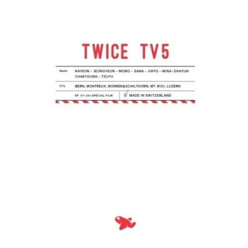 Price comparison product image TWICE - TWICE TV 5 TWICE in SWITZERLAND DVD 3Disc+Photobook+Postcard+Free Gift