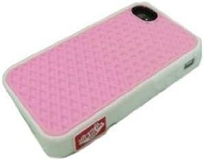Vans - Carcasa de silicona para iPhone 4/4S, diseño de suela de zapatilla, color rosa: Amazon.es: Electrónica