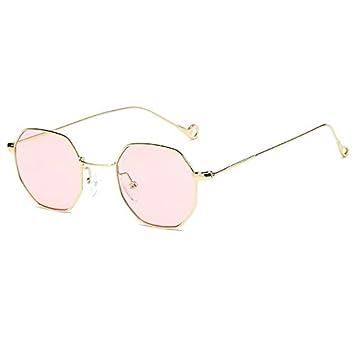 Cikuso Gafas De Sol Hexagonales para Mujer Retro Vintage ...