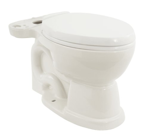 TOTO CM756204SF-01 Mercer Bowl With Oval Soft Close Seat, Cotton White (Bowl (Mercer Toilet Bowl)