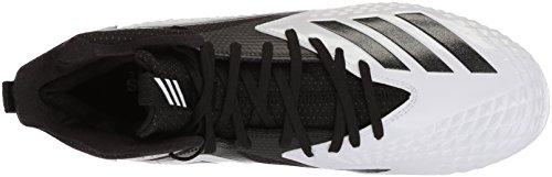 Freak X Black Football Mid Black Carbon White adidas Men's Shoe wvpUTT