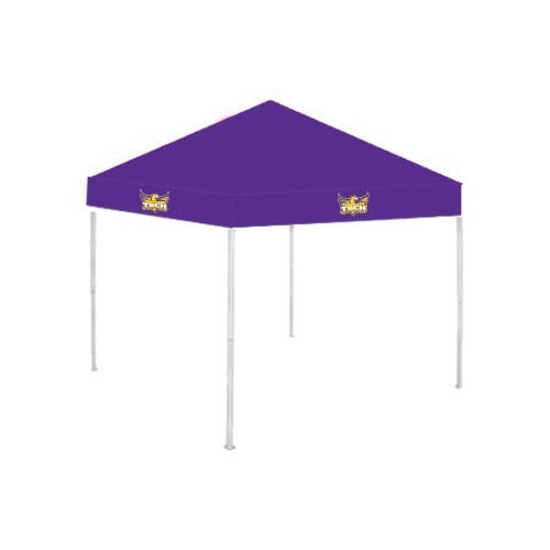 Tennessee Tech 9 ft x 9 ft Purple Tent 'Official Logo' by CollegeFanGear