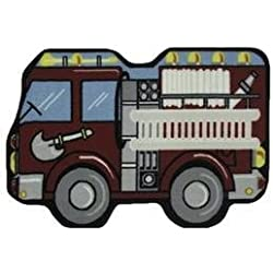 "LA Rug Fire Engine Rug 31""x47"""